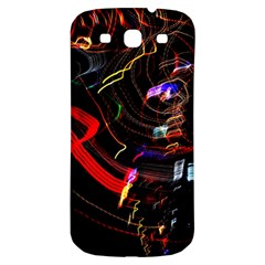 Night View Night Chaos Line City Samsung Galaxy S3 S III Classic Hardshell Back Case