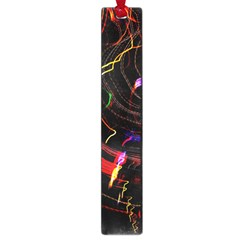 Night View Night Chaos Line City Large Book Marks