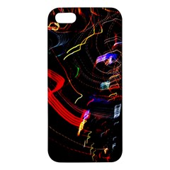 Night View Night Chaos Line City Apple Iphone 5 Premium Hardshell Case