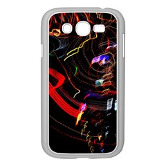 Night View Night Chaos Line City Samsung Galaxy Grand Duos I9082 Case (white)