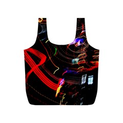 Night View Night Chaos Line City Full Print Recycle Bags (s)