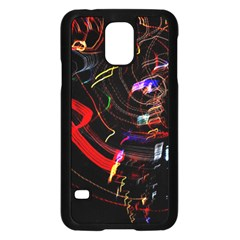 Night View Night Chaos Line City Samsung Galaxy S5 Case (black)