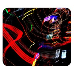 Night View Night Chaos Line City Double Sided Flano Blanket (small)