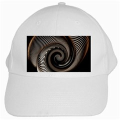 Abstract Background Curves White Cap