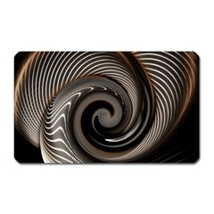 Abstract Background Curves Magnet (rectangular)