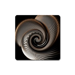 Abstract Background Curves Square Magnet