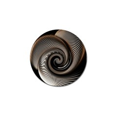 Abstract Background Curves Golf Ball Marker