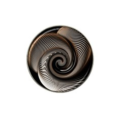Abstract Background Curves Hat Clip Ball Marker