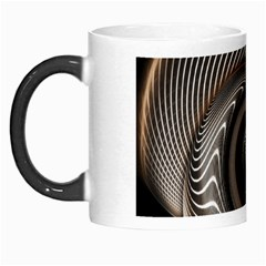 Abstract Background Curves Morph Mugs