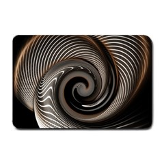 Abstract Background Curves Small Doormat