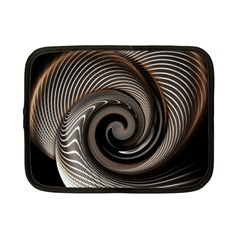Abstract Background Curves Netbook Case (small)
