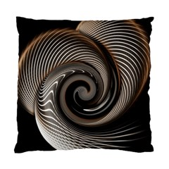 Abstract Background Curves Standard Cushion Case (one Side)