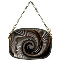 Abstract Background Curves Chain Purses (two Sides)