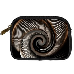 Abstract Background Curves Digital Camera Cases