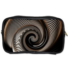 Abstract Background Curves Toiletries Bags