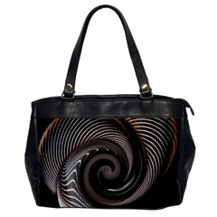 Abstract Background Curves Office Handbags