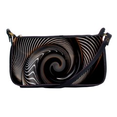 Abstract Background Curves Shoulder Clutch Bags