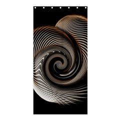 Abstract Background Curves Shower Curtain 36  x 72  (Stall)