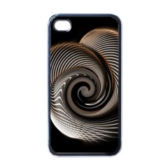 Abstract Background Curves Apple Iphone 4 Case (black)