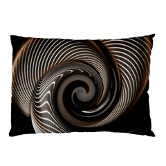 Abstract Background Curves Pillow Case (two Sides)