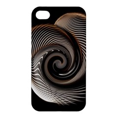 Abstract Background Curves Apple Iphone 4/4s Hardshell Case