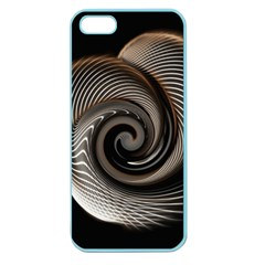 Abstract Background Curves Apple Seamless Iphone 5 Case (color)