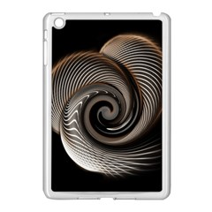 Abstract Background Curves Apple Ipad Mini Case (white)