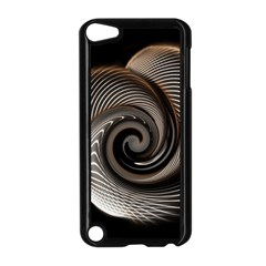 Abstract Background Curves Apple Ipod Touch 5 Case (black)