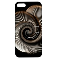 Abstract Background Curves Apple Iphone 5 Hardshell Case With Stand