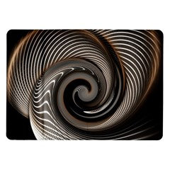 Abstract Background Curves Samsung Galaxy Tab 10 1  P7500 Flip Case