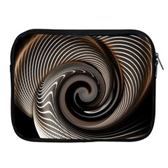 Abstract Background Curves Apple Ipad 2/3/4 Zipper Cases
