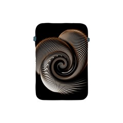 Abstract Background Curves Apple Ipad Mini Protective Soft Cases
