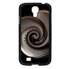 Abstract Background Curves Samsung Galaxy S4 I9500/ I9505 Case (black)