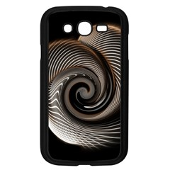 Abstract Background Curves Samsung Galaxy Grand Duos I9082 Case (black)