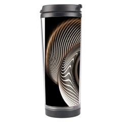 Abstract Background Curves Travel Tumbler