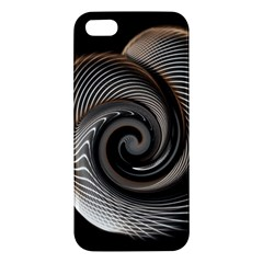 Abstract Background Curves Iphone 5s/ Se Premium Hardshell Case