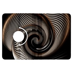 Abstract Background Curves Kindle Fire Hdx Flip 360 Case