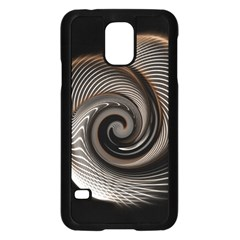 Abstract Background Curves Samsung Galaxy S5 Case (black)