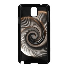 Abstract Background Curves Samsung Galaxy Note 3 Neo Hardshell Case (black)