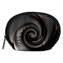 Abstract Background Curves Accessory Pouches (medium)