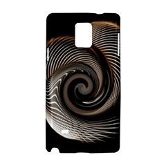 Abstract Background Curves Samsung Galaxy Note 4 Hardshell Case
