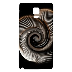 Abstract Background Curves Galaxy Note 4 Back Case