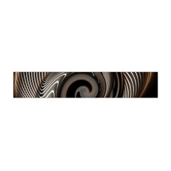 Abstract Background Curves Flano Scarf (Mini)