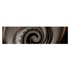 Abstract Background Curves Satin Scarf (Oblong)