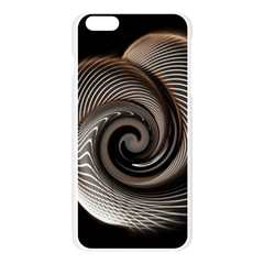 Abstract Background Curves Apple Seamless iPhone 6 Plus/6S Plus Case (Transparent)