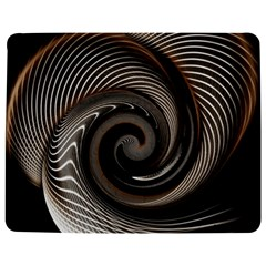 Abstract Background Curves Jigsaw Puzzle Photo Stand (rectangular)