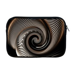 Abstract Background Curves Apple Macbook Pro 17  Zipper Case
