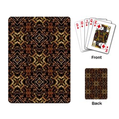 Tribal Geometric Print Playing Card