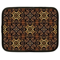 Tribal Geometric Print Netbook Case (Large)