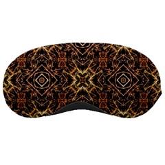 Tribal Geometric Print Sleeping Masks